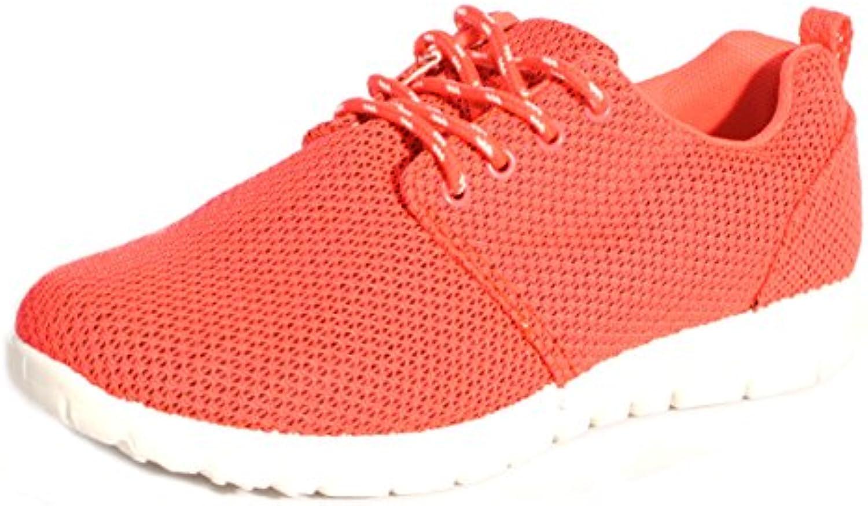 Womens Ladies Sports Running Go Walk de malla gimnasio peso ligero formadores UK tamaños