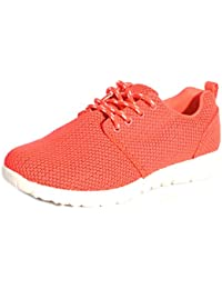 Pour femmes Sports Running Go Walk en maille Gym Poids léger Baskets Tailles UK