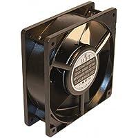 Ventilador para chimenea,cassette,insertable,ventilador axial120x120x38mm,aspas metálicas,super silencioso.