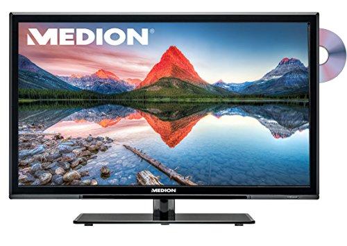 Medion P12267 Life 54,6 cm (21,5 Zoll) Smart LCD Fernseher (HD-Triple-Tuner, DVD-Player, Full HD)