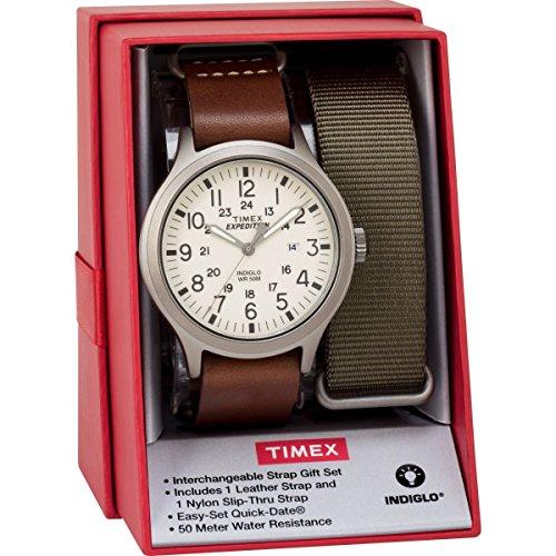 Herren Timex twg016100mit creme Zifferblatt