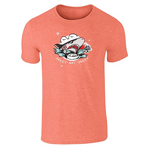 Pop Threads -  T-shirt - Uomo Heather Orange