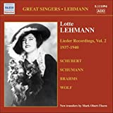Lieder Recordings /vol.2