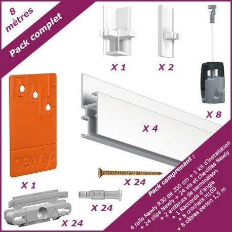 newly-8-meter-komplettes-set-newly-r30-matt-weiss-lackierbar-117-mm