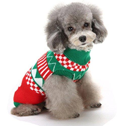 L-Peach Hund Pullover Haustier Weihnachtskostüme für Hunde Katze -