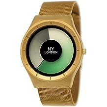 Elegante NY London – Reloj de mujer de hombre reloj Future aspecto Milanaise pulsera de reloj