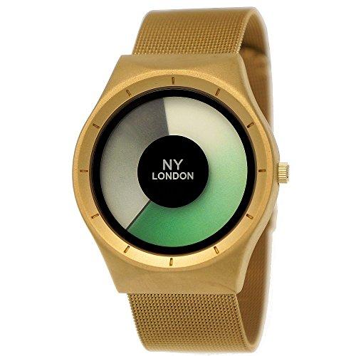 fc0eb734c146 Elegante NY London – Reloj de mujer de hombre reloj Future aspecto  Milanaise pulsera de reloj