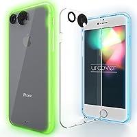 URCOVER Custodia Luminosa Apple iPhone 6 Plus / 6s Plus | Cover Flash LUCE MULTICOLORE Notifica Chiamata | Backcase Rigida Sottile Trasparente