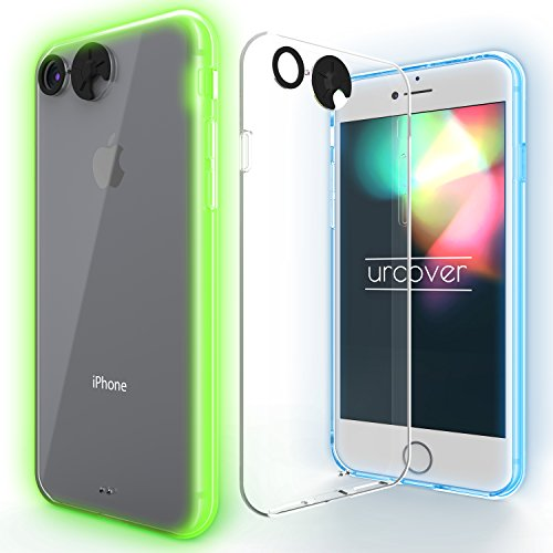 URCOVER Coque Lumineuse - Lumiere pour Apple iPhone 5 / 5s / SE | Cover Qui s' Allume en MULTIPLES COLEURS | Housse de Protection Brillante