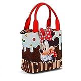Karactermania Minnie Mouse Muffin-Sac à Main Shopping Go Strandtasche, 24 cm, Braun (Brown)