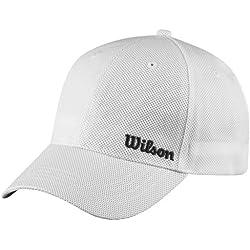 Wilson Wilson Summer Cap WH - Gorra unisex, color blanco, talla OSFA