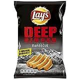 Chips lay's deep ridged barbecue 120g (Prix Par Unité) Envoi Rapide Et Soignée