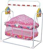 #9: Orril Baby Kick and Play Crib cum palna cum baby bedding set with Mosquito Net .