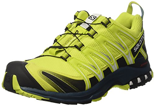 le dernier 58c65 065b5 Salomon XA Pro 3D GTX, Zapatillas de Trail Running para Hombre, Verde (Lime  Punch./Black/Reflecting Pond), 45 1/3 EU