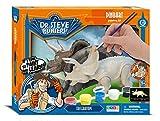 Dr. Steve Hunters cl1776K–dinoart Painting Kit–Triceratops