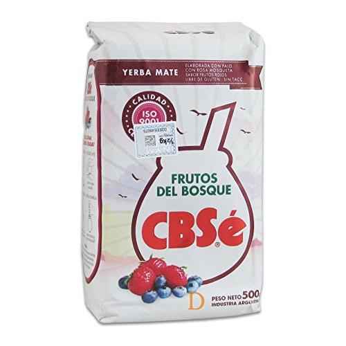 Yerba mate CbSe Frutos del Bosque 500g