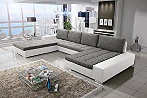 sofa couchgarnitur couch sofagarnitur verona 4 u polstergarnitur polsterecke wohnlandschaft mit. Black Bedroom Furniture Sets. Home Design Ideas