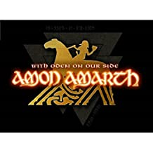 Amon Amarth - With Oden on our side Flagge
