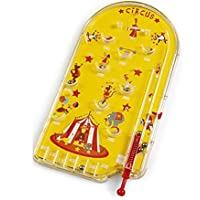 Scratch Circus Tin Pinball Game (Yellow)
