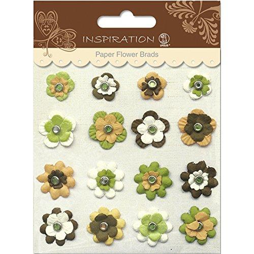 Paper Flower Brads (PAPER FLOWERS BRADS MOTIV 09)