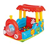 Bestway Fisher-Price Bällebad Lokomotive, 132 x 94 x 89 cm