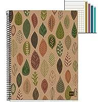 Cuaderno Reciclado A5 Ecohojas 120 Hojas