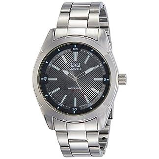 Citizen Q&Q Q894J202Y – Reloj de Pulsera para Hombre, Gris Oscuro/Metálico