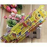 5 in 1 kids Disney Winnie the Pooh stationary set containing 2 pencils, 1 eraser, 1 ruler & 1 sharpner - ideal party bag/loot bag filler