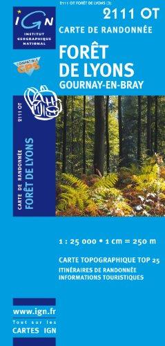 Foret De Lyons / Gournay-en-Bray GPS: Ign.2111ot par IGN