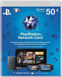 CARTE PREPAYEE PLAYSTATION NETWORK (PSN) 50€ PSP / PS3 (B002NX0TLW) | Amazon price tracker / tracking, Amazon price history charts, Amazon price watches, Amazon price drop alerts