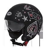 Helm Helmet Jet PREMIER Rocker CT9BM S