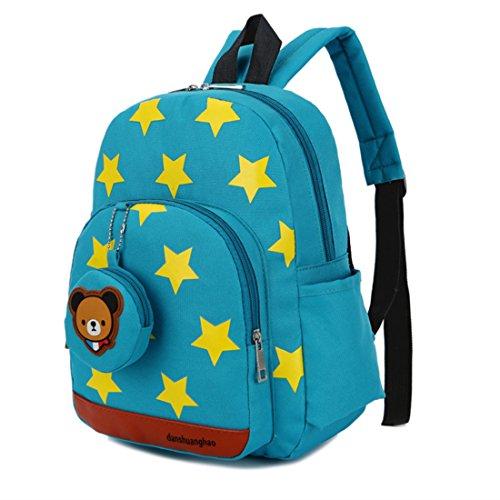 Imagen de gwell estrella baby  guardería  niños pequeños niños  chica joven backpack schultasche azul azul verdoso