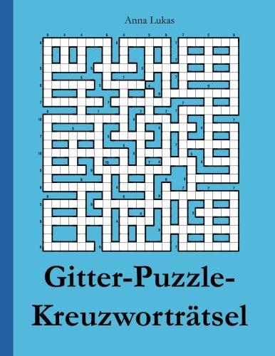 Gitter-Puzzle-Kreuzworträtsel
