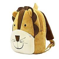 TOPCOMWW 3d Cartoon Lion Backpack Boy Childrens School Bags Children