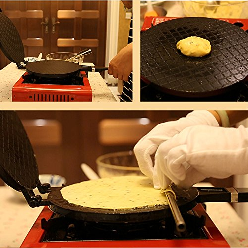 51dkWqEp4NL. SS500  - TAMUME Ice Cream Waffle Cone Maker Ice Cream Cone Pan Crêpe Maker Crispy Omelette Pan for Omelette Mould and Ice Cream…