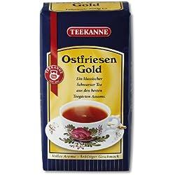 Teekanne Ostfriesen Gold Schwarzteemischung 250g, 1er Pack (1 x 250 g Packung)
