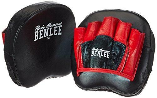 BENLEE Rocky Marciano Pratzen Boon Pad, Schwarz/Rot, One size, 199073