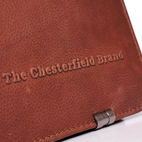 The Chesterfield Brand George Aktentasche Leder 38 cm Laptopfach cognac