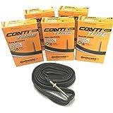 Continental Race 28 700 x 20-25c Bike Inner Tubes (Pack of 5) - Presta 60mm Long Valve