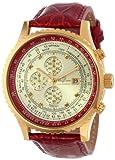Burgmeister Armbanduhr für Herren mit Analog-Anzeige, Chronograph und Lederarmband - Wasserdichte Herrenarmbanduhr mit zeitlosem, schickem Design - klassische Uhr für Männer - BM320-274 Savannah