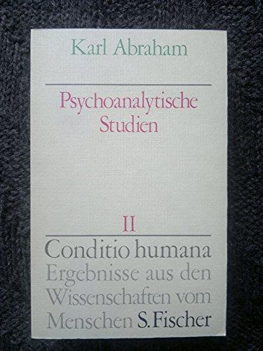 Psychoanalytische Studien II