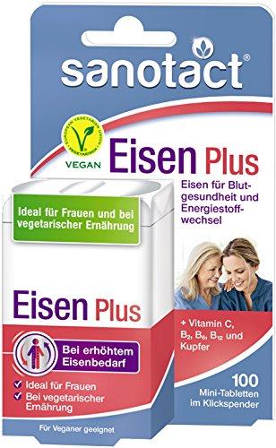Sanotact Eisen Plus Mini-Tabletten 100St.