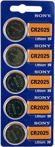 Sony CR2025 3V Lithium Cell Battery (5Pcs per Pack) Cr2025 3v Batterie