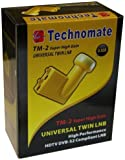 Technomate TM-2 0.1 dB Universal Twin Super High Gain LNB