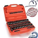 Dromedary 52 tlg Treibsatz Lager Schalen Wechsel Einpressen Werkzeug Set Montagescheiben
