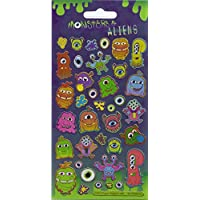 Paper Projects 01.70.04.022 Monsters & Aliens Sparkle Sticker Pack