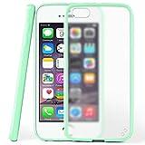 moex iPhone 4S | Hülle Slim Transparent Mint-Grün Impact Back-Cover Dünn Schutzhülle Silikon Handy-Hülle für iPhone 4/4S Case TPU Tasche Matt