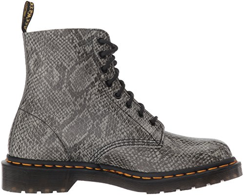 Dr. Martens Pascal Viper, Brogues Mixte Adulte Gris (Light Grey)