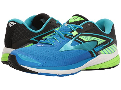 Brooks Ravenna 8, Scarpe da Ginnastica Uomo Blu (Electric Blue Lemonade/Black/Green Gecko)