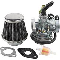 GOOFIT PZ19 Carburateur Filtre à air filtre à l'huile125cc 90cc 110cc Câble Choke chinois ATV Quad Go-kart